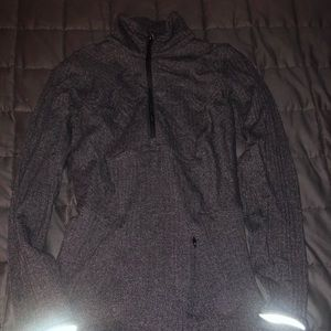 Lululemon half zip heathered size 2